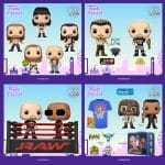 Funko Pop! WWE - Drew McIntyre, Otis (Money in the Bank), Edge, The Rock Vs. Stone Cold Steve Austin in Wrestling Ring, Stone Cold Steve Austin with Belt, Chyna, The Rock vs. Mankind (2 Pack), and Stone Cold (Metallic) Funko Pop! Vinyl Figures