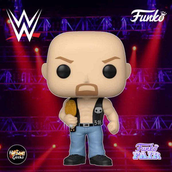 Funko Pop! WWE - Stone Cold Steve Austin with Belt Funko Pop! Vinyl Figure