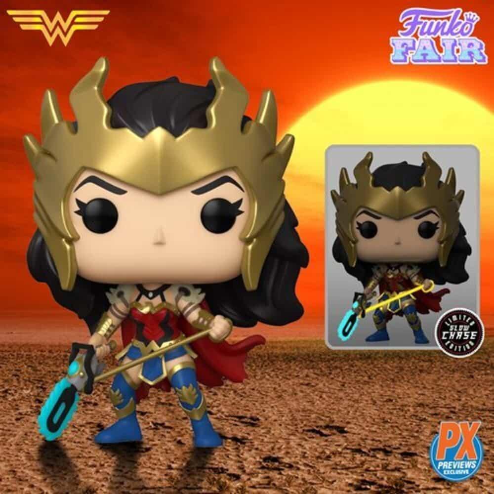 Funko Pop! Heroes Wonder Woman 80th Anniversary - Death Metal Wonder Woman Funko Pop! Vinyl Figure - PX Exclusive