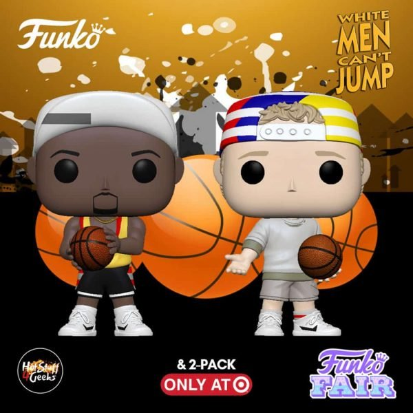 Funko Pop!Movies:White Men Can't Jump - Billy Hoyle and Sidney Funko Pop! Vinyl Figures