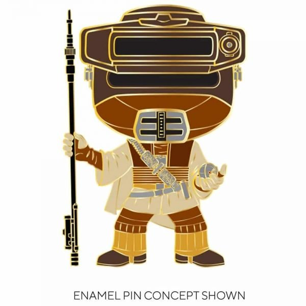 Funko Star Wars: Return of the Jedi Pop! Pins - Han in Carbonite, Lando Calrissian, Leia as Boushh, and Jabba the Hutt With Chase Large Enamel Pop! Pins
