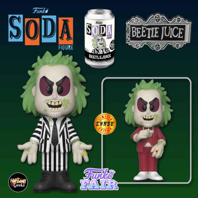 Funko Vinyl Soda Beetlejuice Vinyl Soda Figure With Chase Variant