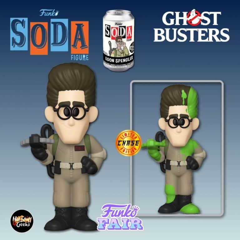 Funko Vinyl Soda Ghostbusters - Egon Vinyl Soda Figure With Chase Variant