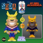 Funko Vinyl Soda: My Hero Academia All Might Vinyl Soda Figure With Glow-In-The-Dark Chase Variant