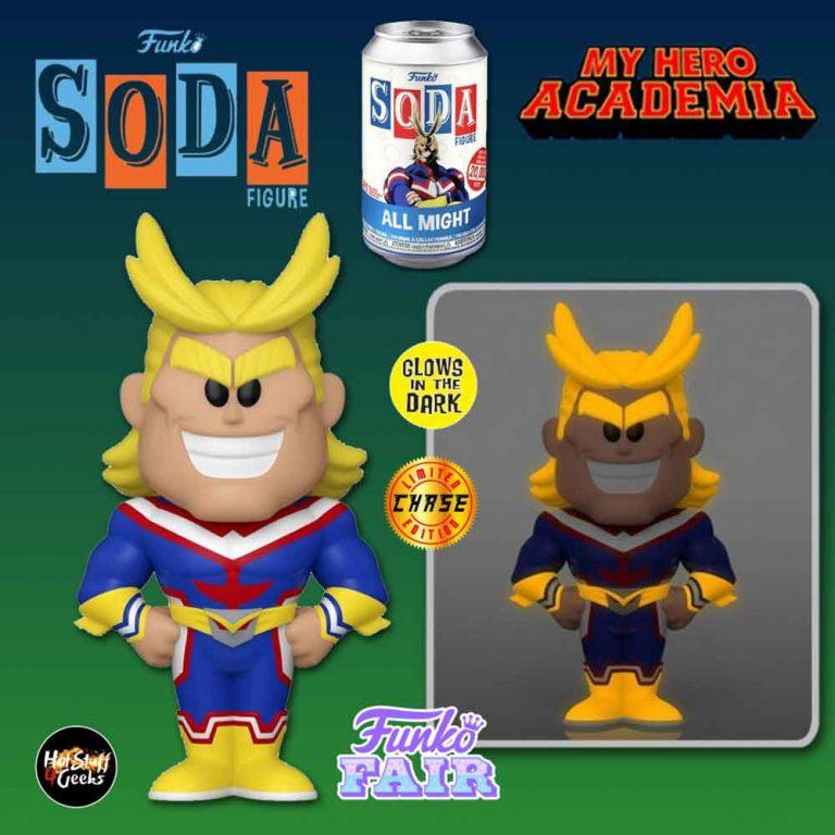 Funko Vinyl Soda: My Hero Academia All Might Vinyl Soda Figure With Glow-In-The-Dark Chase Variant