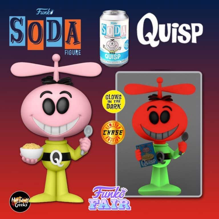 Funko Vinyl Soda: Quaker - Quisp Vinyl Soda Figure With Glow-In-The-Dark Chase Variant