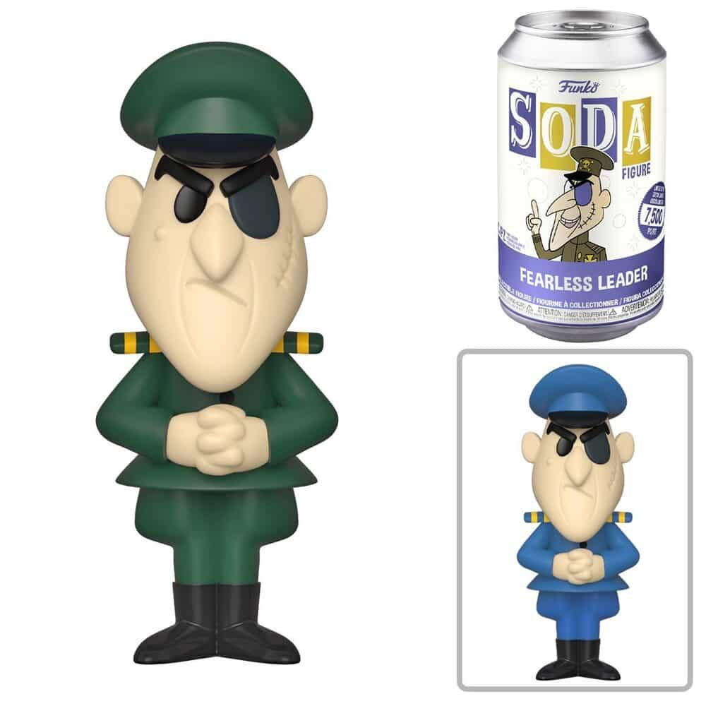Funko Vinyl Soda: Rocky and Bullwinkle - Fearless Leader Vinyl Soda Figure With Chase Variant