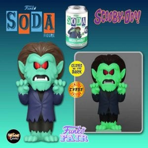 Funko Vinyl Soda: Scooby-Doo - Werewolf Vinyl Soda Figure With Glow-In-The-Dark Chase Variant