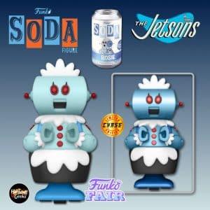 Funko Vinyl Soda: The Jetsons - Rosie Vinyl Soda Figure With Chase Variant