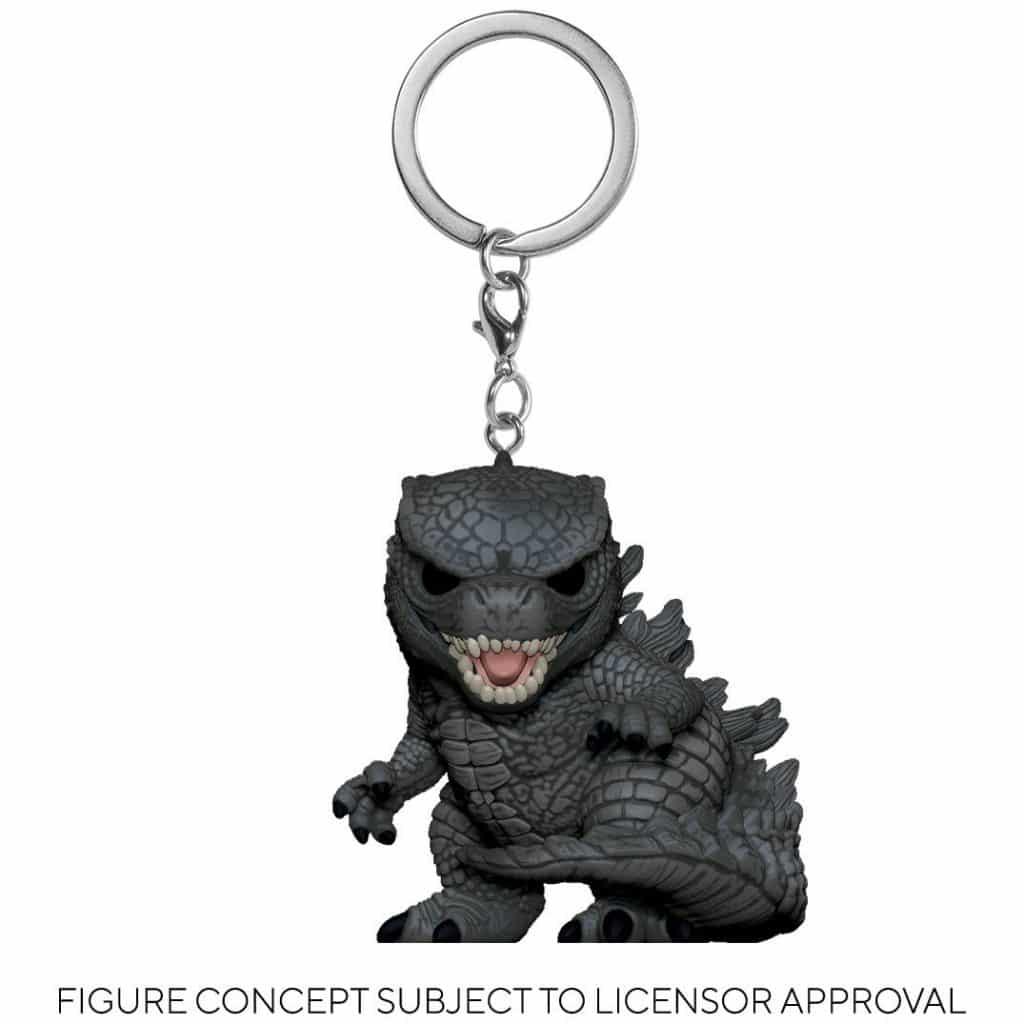 Godzilla vs. Kong Godzilla Pocket Pop! Key Chain