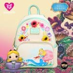 Loungefly Disney Alice in Wonderland Garden Flowers Mini Backpack - BoxLunch Exclusive