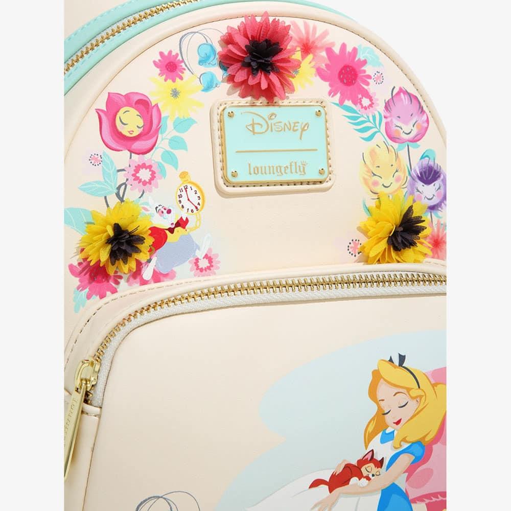 Loungefly Disney Alice in Wonderland Garden Flowers Mini Backpack - BoxLunch Exclusive