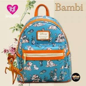 Loungefly Disney Bambi Forest Floral Mini Backpack - BoxLunch Exclusive