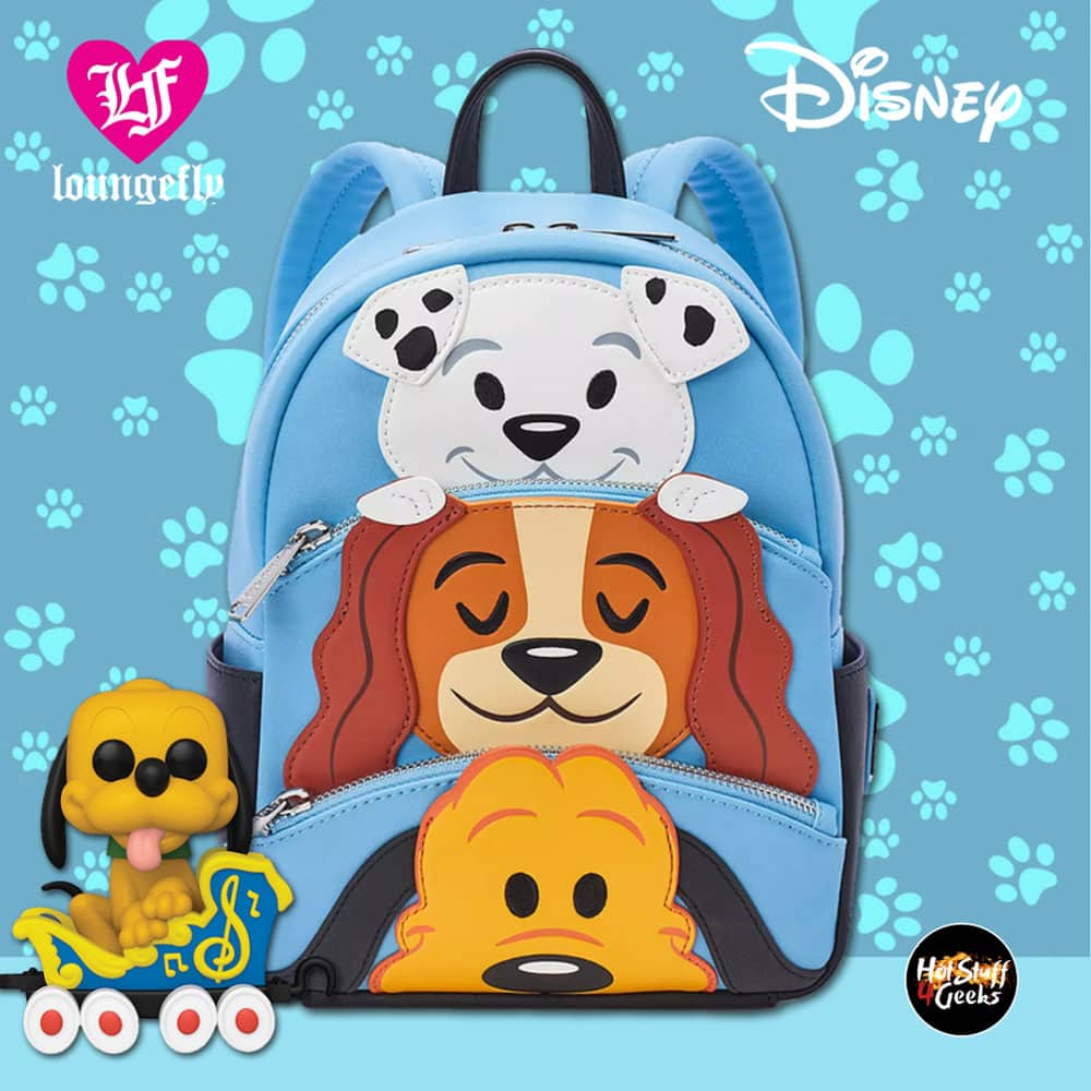 Loungefly Disney Dogs Mini Backpack - Shop Disney Exclusive