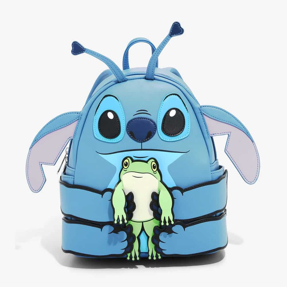 Loungefly Disney Lilo & Stitch Frog Figural Mini Backpack - BoxLunch Exclusive