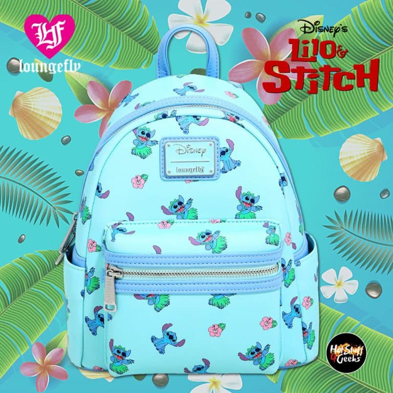 Loungefly Disney Lilo & Stitch Hula Mini Backpack - BoxLunch Exclusive