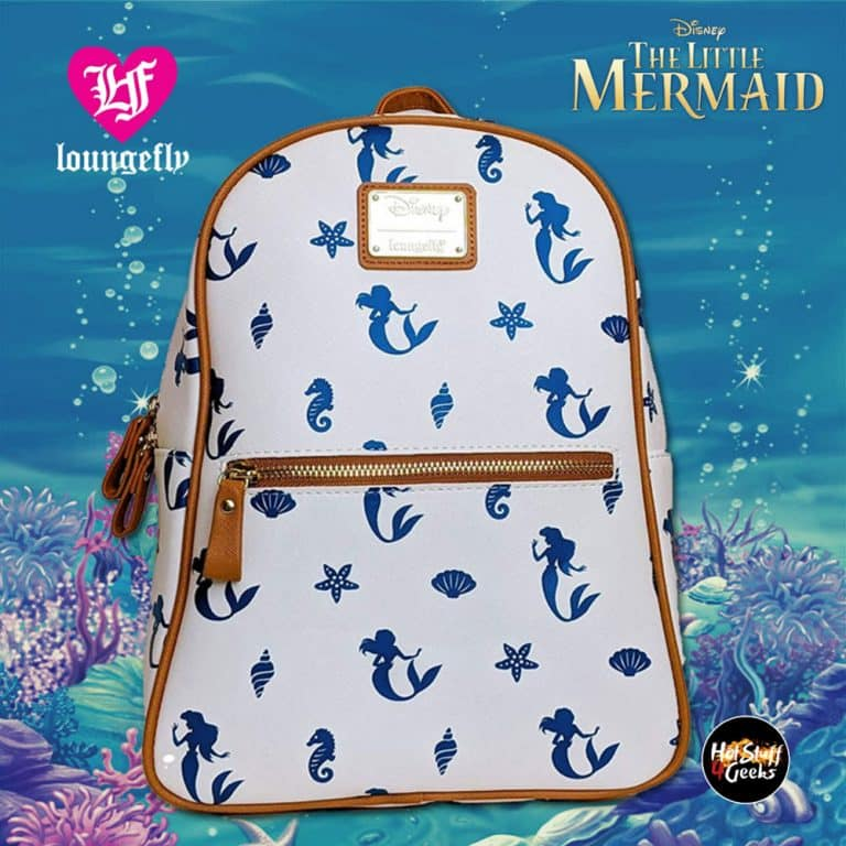 Loungefly Disney Little Mermaid Ariel Seahorse Mini Backpack - Amazon Exclusive