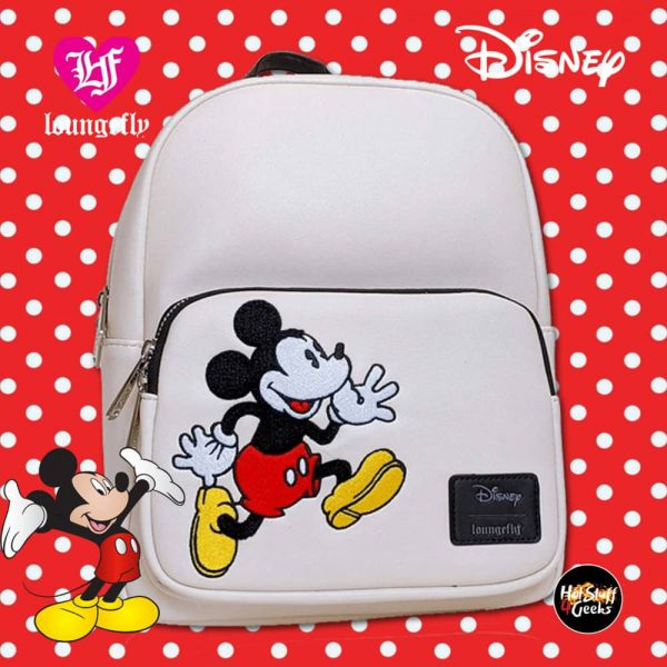 Loungefly Disney Mickey Chenille Backpack - Amazon Exclusive