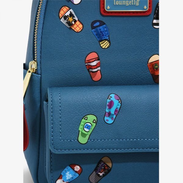 Loungefly Disney Pixar Slides Mini Backpack - BoxLunch Exclusive