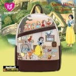 Loungefly Disney Snow White And The Seven Dwarfs Multi Scene Mini Backpack