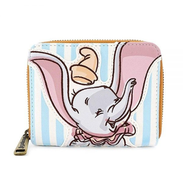 Loungefly Dumbo Circus Ticket Flap Wallet
