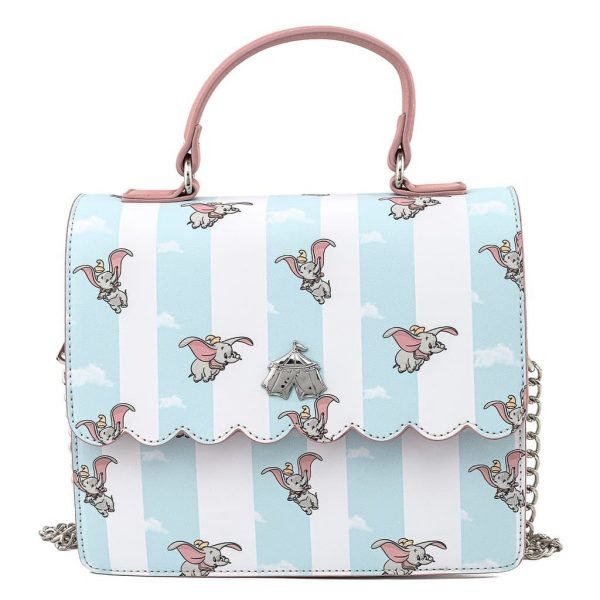 Loungefly Dumbo Flying Circus Tent Crossbody Purse