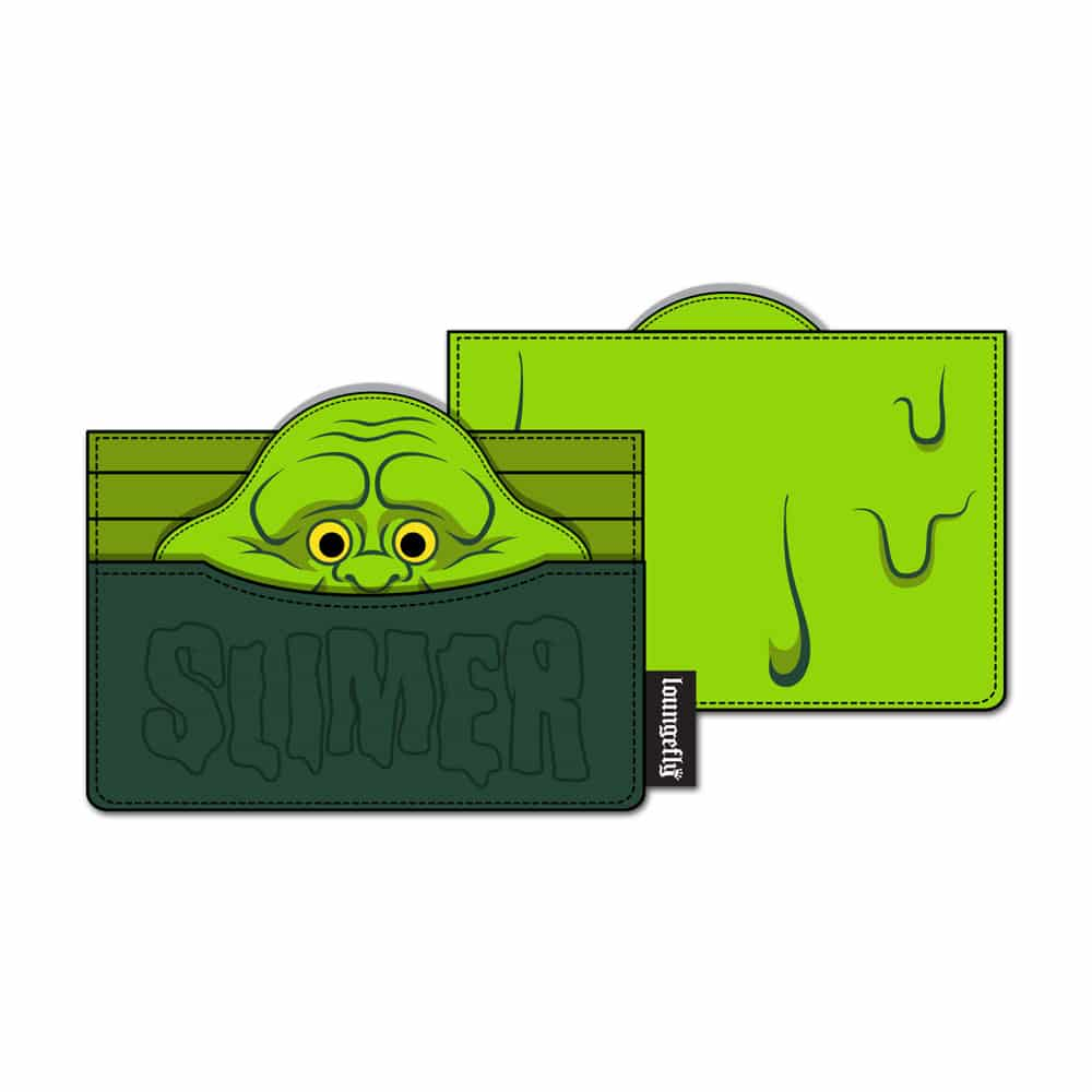 Loungefly Ghostbusters Slimer Cardholder