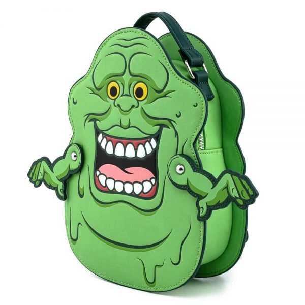 Loungefly Ghostbusters Slimer Convertible Mini Backpack