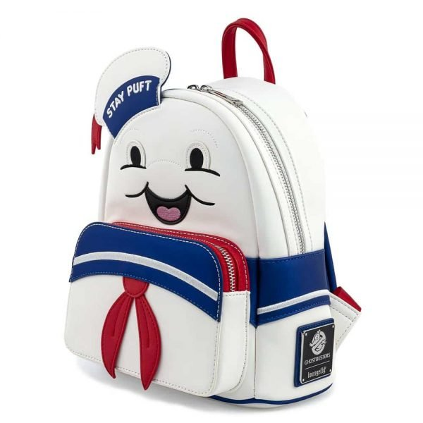 Loungefly Ghostbusters Stay Puft Marshmallow Man Mini Backpack