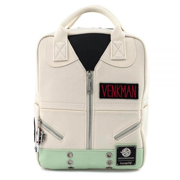 Loungefly Ghostbusters Venkman Cosplay Canvas Mini Backpack