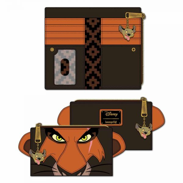 Loungefly Lion King Scar Cosplay Flap Wallet