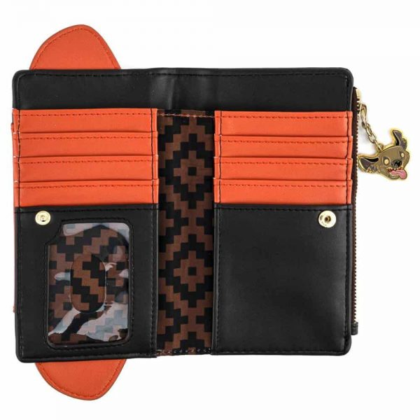 Loungefly Lion King Scar Cosplay Flap Wallet.