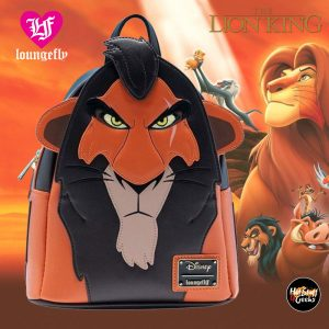 Loungefly Lion King Scar Cosplay Mini-Backpack