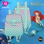 Loungefly Little Mermaid Ombre Scales Mini-Backpack