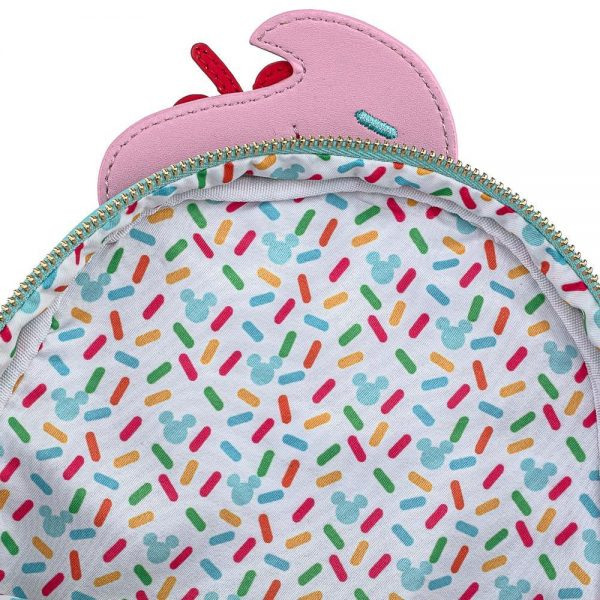Loungefly Mickey and Minnie Mouse Sweets Ice Cream Mini-Backpack