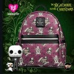 Loungefly Nightmare Before Christmas (NBC) Love Is Eternal Mini-Backpack - Entertainment Earth Exclusive