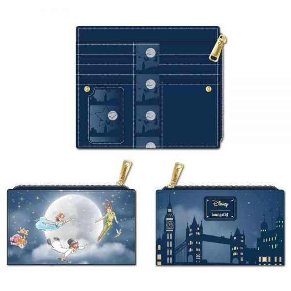 Loungefly Peter Pan Second Star to the Right Flap Wallet