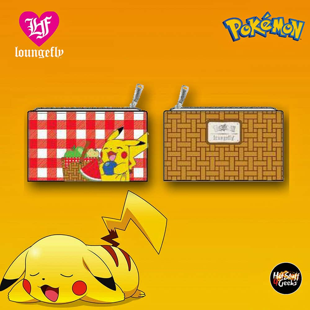 Loungefly Pokemon Pikachu Picnic Basket Flap Wallet