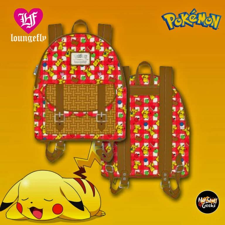 Loungefly Pokemon Pikachu Picnic Basket Mini-Backpack