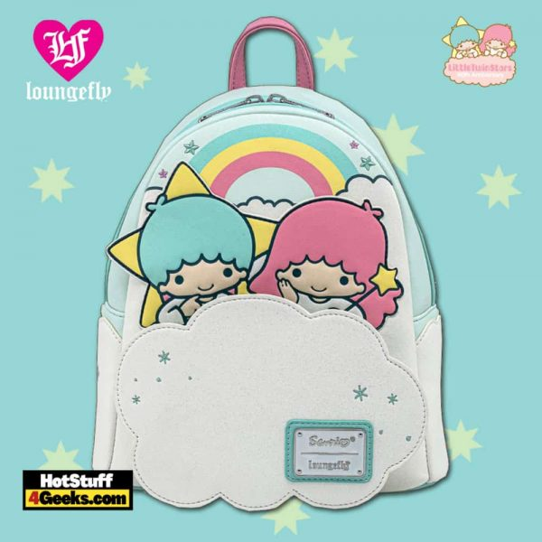 Loungefly Sanrio Little Twin Stars Two Stars On Cloud Mini Backpack