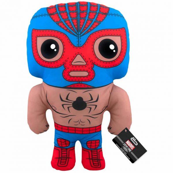 Marvel Luchadores El Aracno Spider-Man 17-Inch Plush