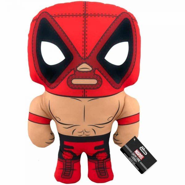 Marvel Luchadores El Chimichanga De La Muerte Deadpool 17-Inch Plush