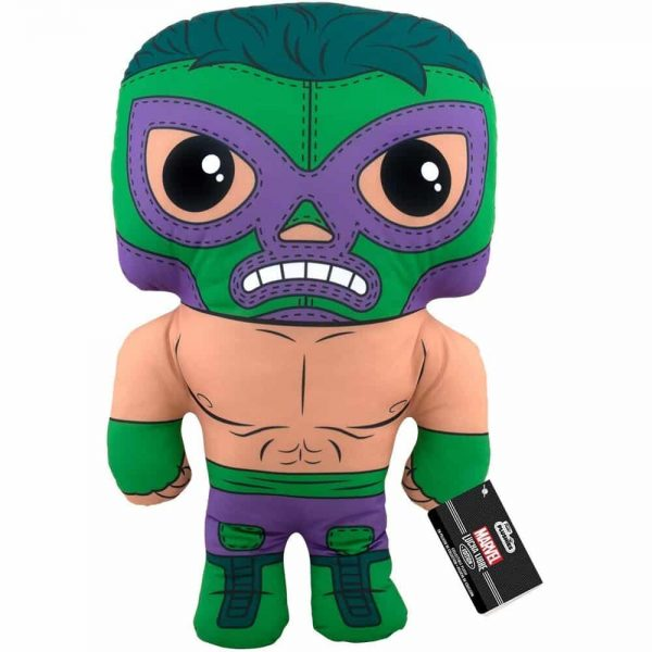 Marvel Luchadores El Furioso Hulk 17-Inch Plush