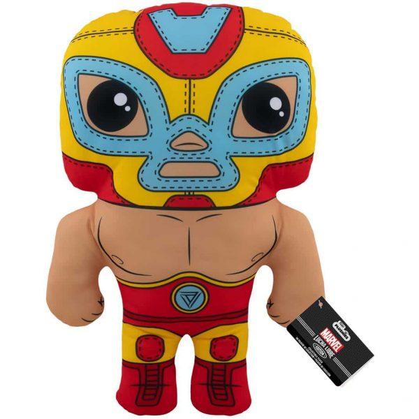 Marvel Luchadores El Heroe Iron Man 17-Inch Plush