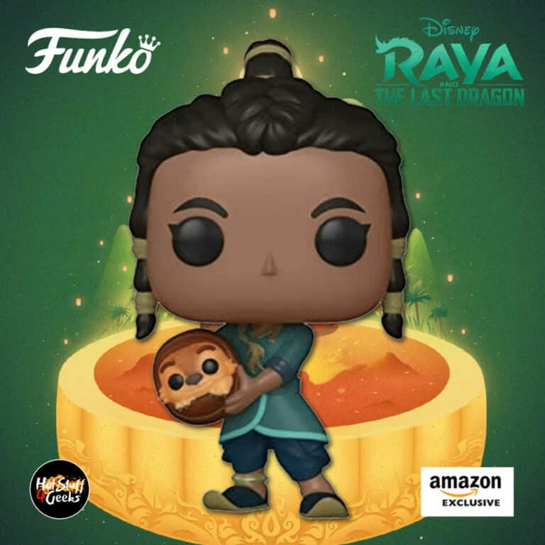 Funko Pop! Movies: Raya and The Last Dragon – Raya and Baby Tuk Tuk Funko Pop! Vinyl Figure - Amazon Exclusive