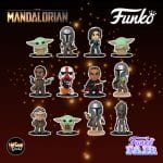 The Mandalorian Mystery Minis Blind Boxes - Mando, The Child aka Grogu, Cara Dune, Kuiil, Greef Karga, Moff Gideon, IG-11, and Incinerator Stormtrooper