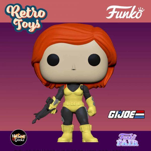 This Funko Pop! Retro Toys G.I. Joe - Scarlett Funko Pop! Vinyl Figure