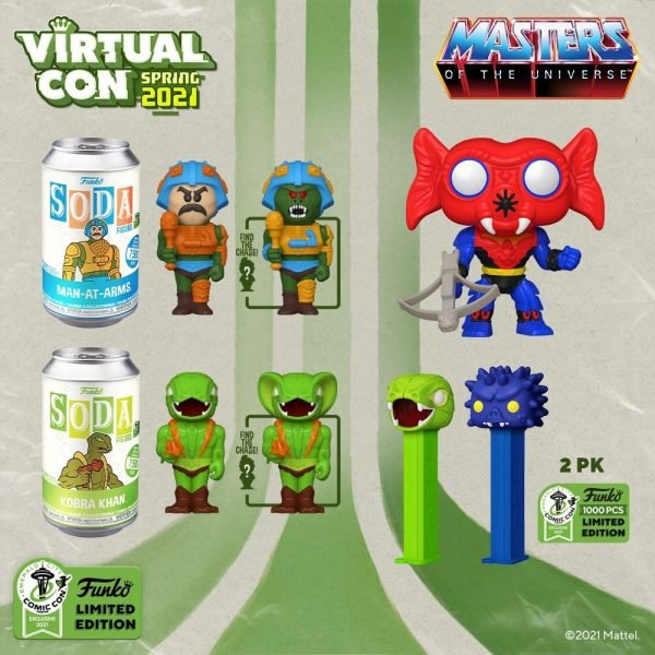 Funko Masters of the Universe ECCC 2021 Exclusives