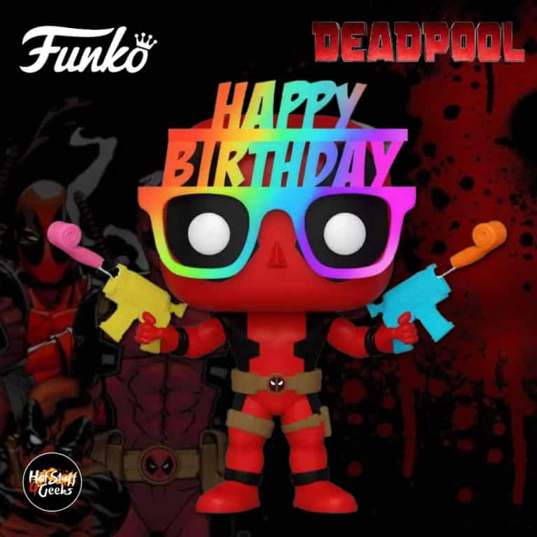 Funko POP! Deadpool 30th - Birthday Glasses Deadpool Funko Pop! Vinyl Figure - Target Exclusive