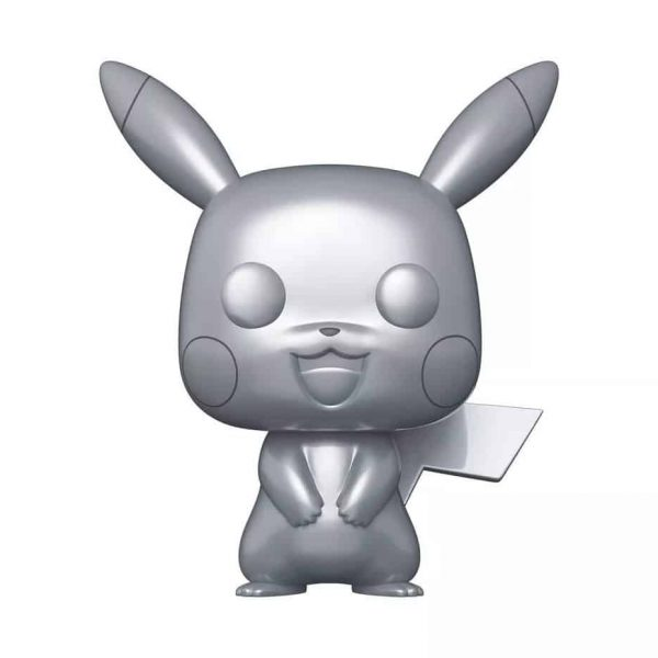 Funko POP! Games Pokemon - 10 Pikachu Metallic Funko Pop! Vinyl Figure - Target Con 2021 Exclusive